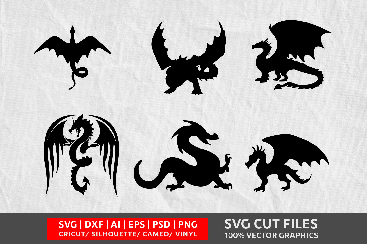 Download Free Dragon Graphic By Design Palace Creative Fabrica for Cricut Explore, Silhouette and other cutting machines.