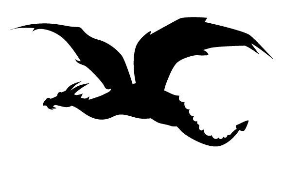 Download Free Dragon Silhouette Flying Svg Cut File By Creative Fabrica Crafts for Cricut Explore, Silhouette and other cutting machines.