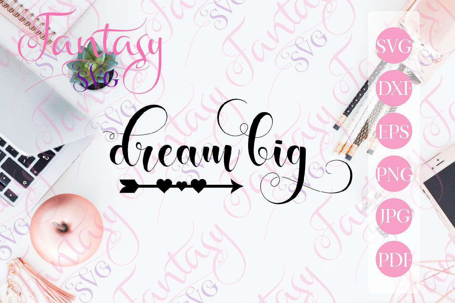 Download Free Dream Big Graphic By Fantasy Svg Creative Fabrica SVG Cut Files