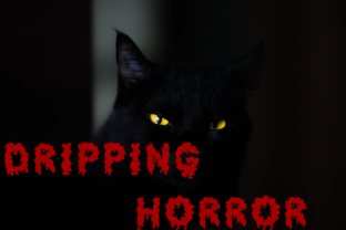 Dripping Horror Font By ZR's Font