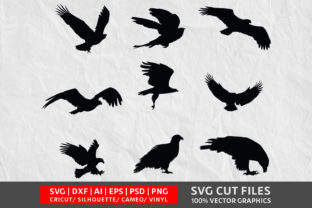 Eagle Vol 1 SVG Graphic By Design Palace