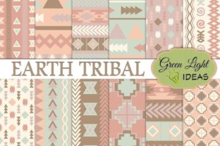 Earth Tribal Backgrounds Graphic By GreenLightIdeas