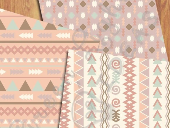 Download Free Earth Tribal Backgrounds Graphic By Greenlightideas Creative for Cricut Explore, Silhouette and other cutting machines.