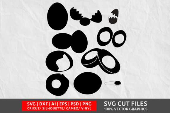 Download Free Egg Svg Graphic By Design Palace Creative Fabrica for Cricut Explore, Silhouette and other cutting machines.