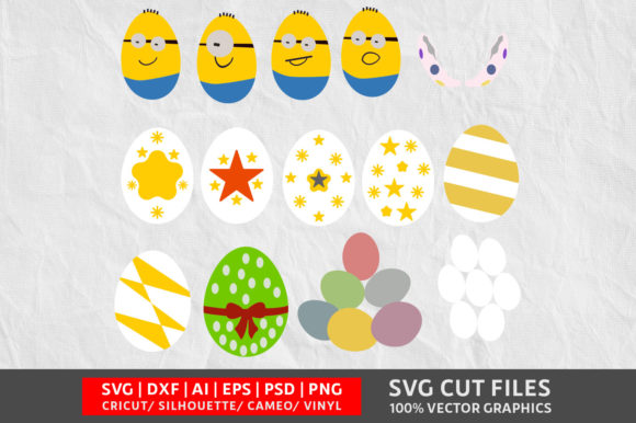 Download Free Egg Graphic By Design Palace Creative Fabrica for Cricut Explore, Silhouette and other cutting machines.