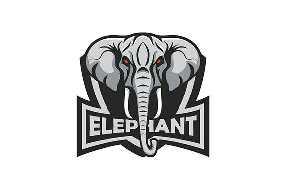 Elephant Vector Graphic Illustrations By rohmar