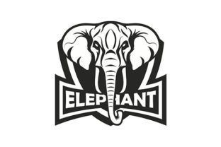 Elephant Vector Graphic By rohmar