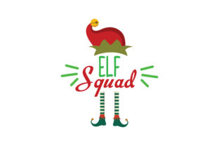 Download Free Elf Squad Graphic By Thelucky Creative Fabrica for Cricut Explore, Silhouette and other cutting machines.