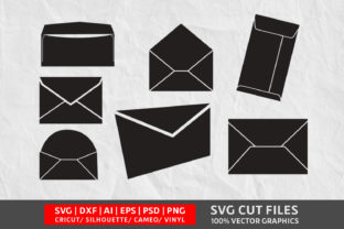 Envelope SVG Graphic By Design Palace