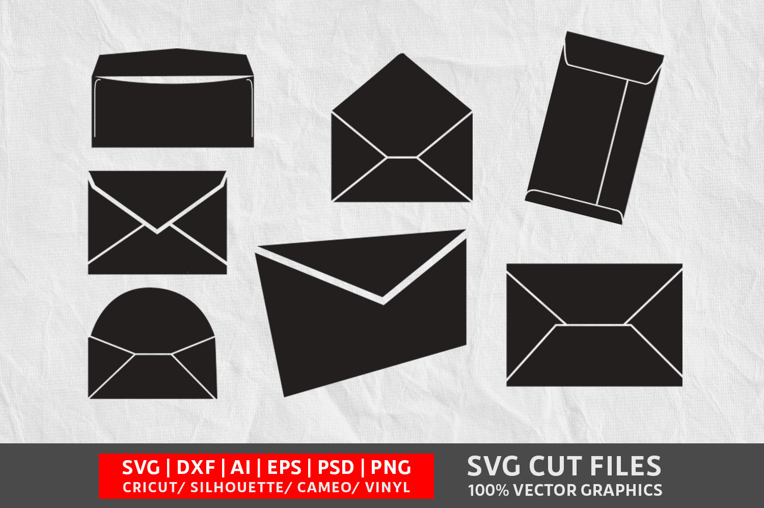 Download Free Envelope Graphic By Design Palace Creative Fabrica for Cricut Explore, Silhouette and other cutting machines.