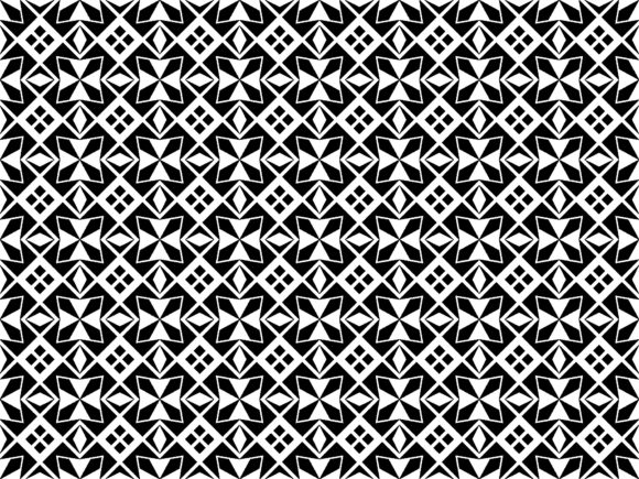 Ethnic Square Pattern Graphic Patterns By asesidea