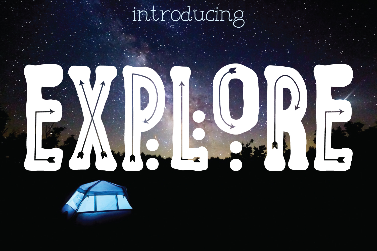 Download Free Explore Font By Creativespace Creative Fabrica for Cricut Explore, Silhouette and other cutting machines.