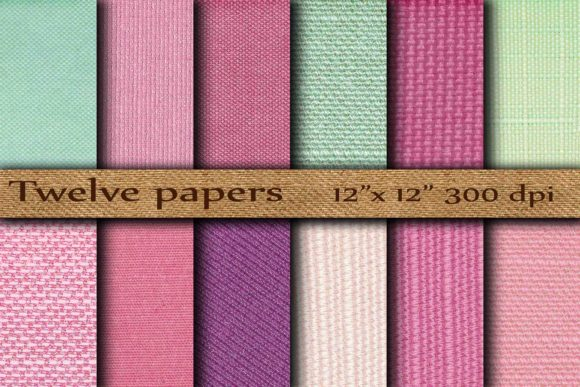 Fabric Digital Paper Graphic Backgrounds By twelvepapers