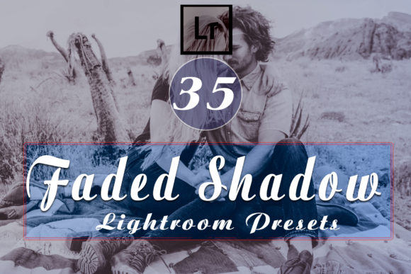 Faded Shadow Lightroom Presets Graphic Add-ons By Lumazin Ribak - Image 1