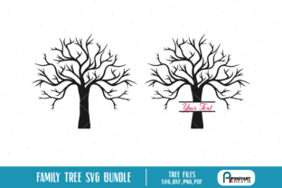 Download Free Family Tree Bundle Graphic By Pinoyartkreatib Creative Fabrica for Cricut Explore, Silhouette and other cutting machines.