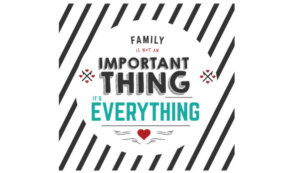 Download Free Family Is Not An Important Thing It S Everything Graphic By for Cricut Explore, Silhouette and other cutting machines.