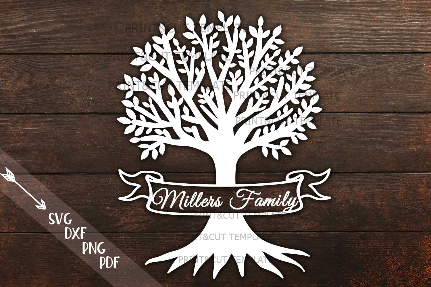 Family Tree Svg Graphic By Cornelia Creative Fabrica