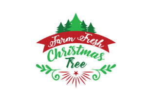 Download Free Farm Fresh Christmas Tree Svg Cut Graphic By Thelucky Creative for Cricut Explore, Silhouette and other cutting machines.