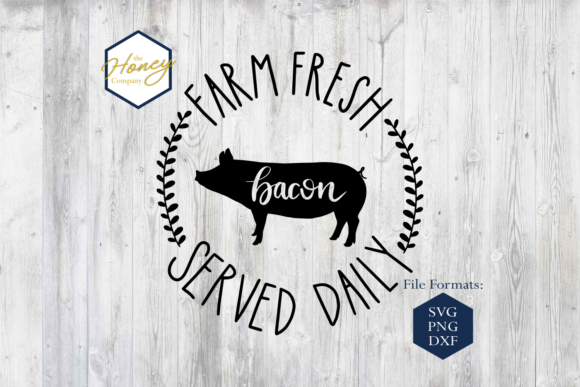 Farm Fresh SVG Graphic Crafts By The Honey Company