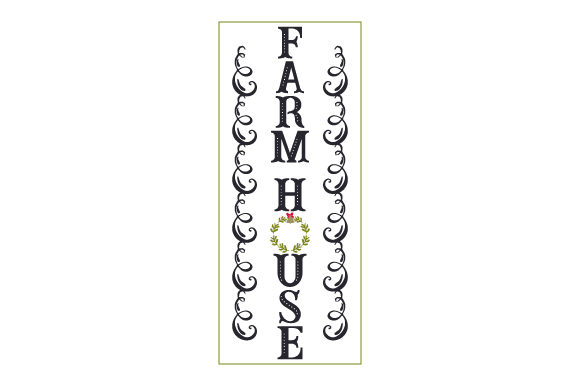 Farm House Porch Signs Craft Cut File By Creative Fabrica Crafts
