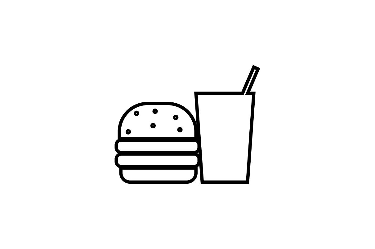 Download Free Fast Food Icon Vector Eps 10 Graphic By Hoeda80 Creative Fabrica for Cricut Explore, Silhouette and other cutting machines.
