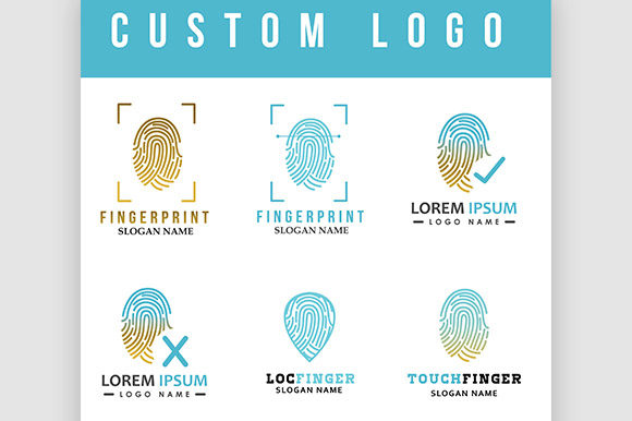 Finger Logo Graphic Logos By rohmar