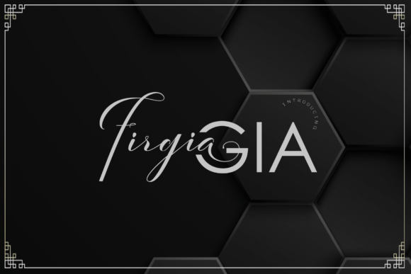 Print on Demand: FirgiaGIA Script & Handwritten Font By Ageless Type