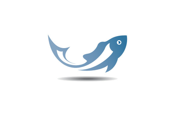Download Free Fish Vector Logo Graphic By Hartgraphic Creative Fabrica for Cricut Explore, Silhouette and other cutting machines.