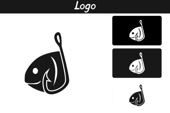 Print on Demand: Fishing Logo Graphic Icons By Arief Sapta Adjie