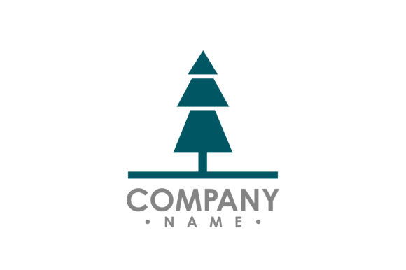 Download Free Flat Pine Tree Outdoor Travel Green Silhouette Forest Vector Logo for Cricut Explore, Silhouette and other cutting machines.