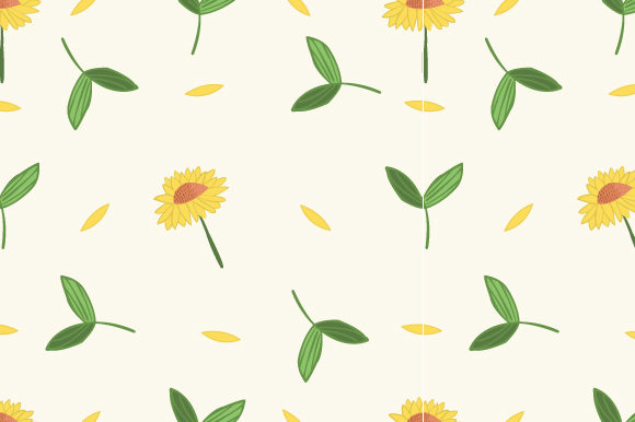 Print on Demand: Floral Pattern in the Blooming Graphic Patterns By iop_micro