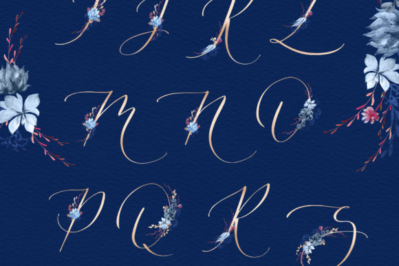Print on Demand: Floral Wedding Graphics & Script Graphic Objects By Iradvilyuk - Image 16