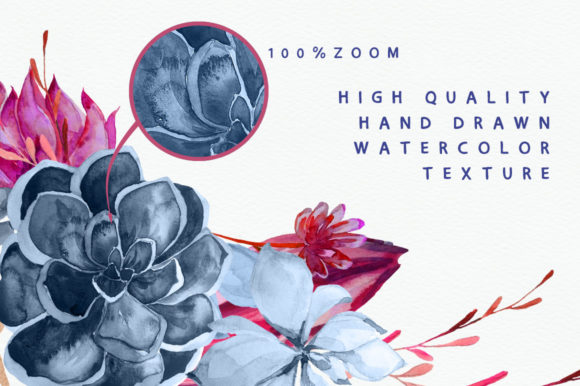 Print on Demand: Floral Wedding Graphics & Script Graphic Objects By Iradvilyuk - Image 22