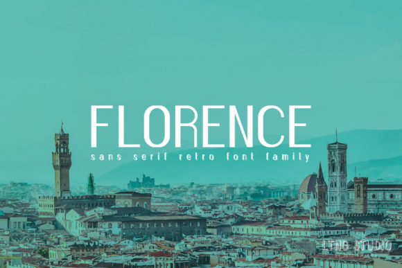 Print on Demand: Florence Family Sans Serif Font By LTNG
