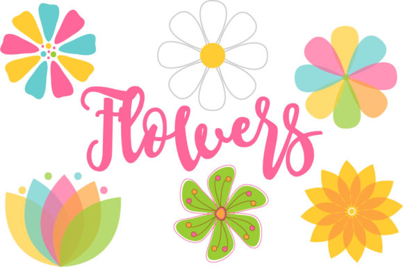 Flowers Graphic Illustrations By sonyadehart
