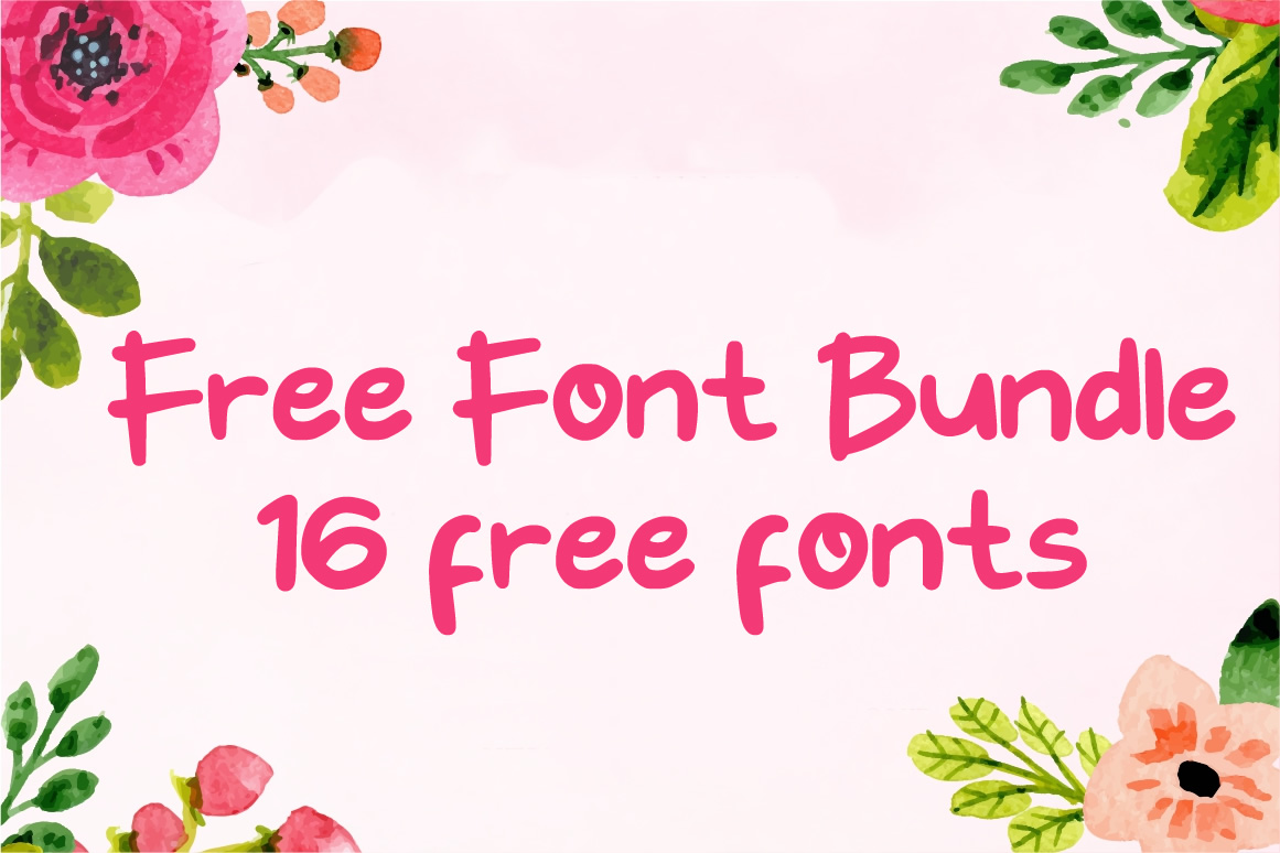 Download Free Free Font Bundle 2019 Vol 1 Bundle Creative Fabrica for Cricut Explore, Silhouette and other cutting machines.