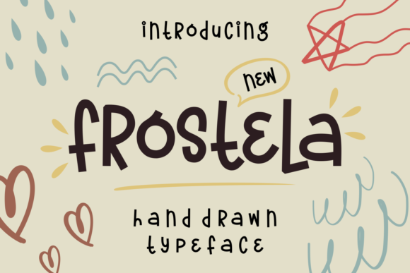 Print on Demand: Frostela Script & Handwritten Font By Keithzo (7NTypes)