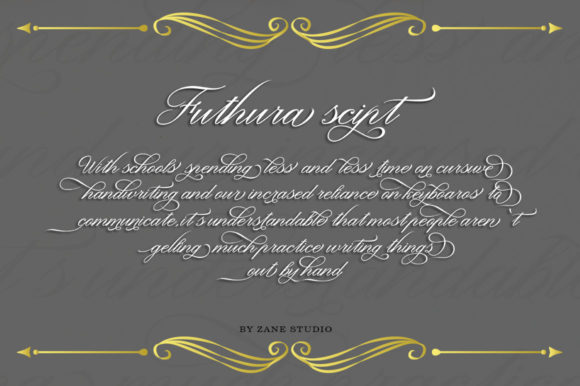 Print on Demand: Futhura Script Script & Handwritten Font By Zane Studio - Image 8