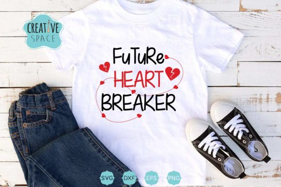 Future Heart Breaker SVG Graphic Crafts By creativespace