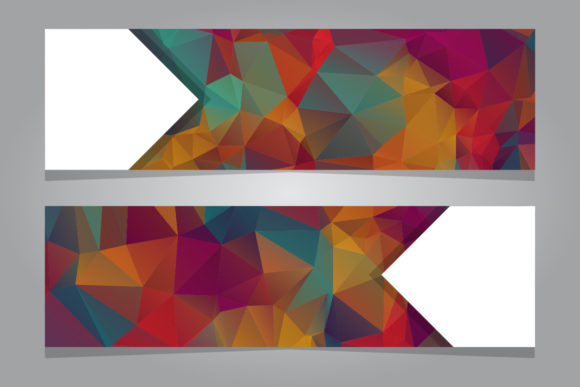 Print on Demand: GEOMETRIC ABSTRACT BACKGROUND Graphic Graphic Templates By back1design1