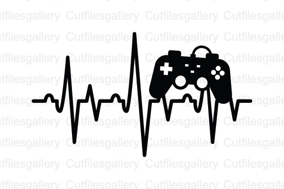 Download Free Game Control Heartbeat Svg Graphic By Cutfilesgallery Creative SVG Cut Files