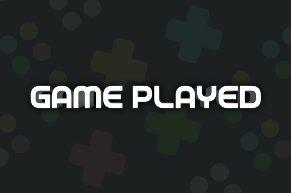 Game Played Display Font By Chequered Ink