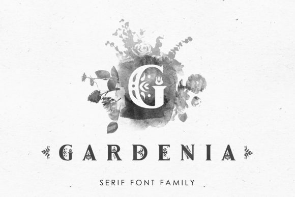Print on Demand: Gardenia Serif Font By struvictory