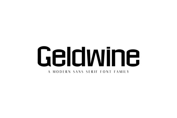 Print on Demand: Geldwine Family Sans Serif Font By Creative Tacos