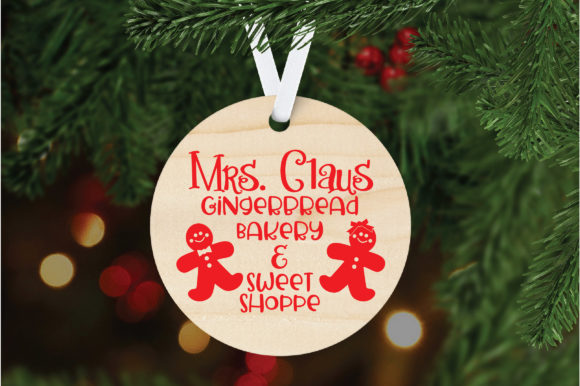 Download Free Gingerbread Bakery Graphic By Oldmarketdesigns Creative Fabrica for Cricut Explore, Silhouette and other cutting machines.