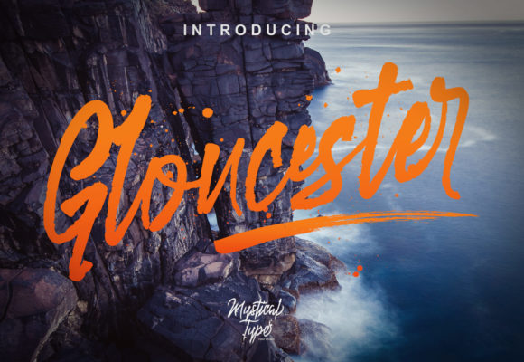 Gloucester Script Font By MysticalType Image 1