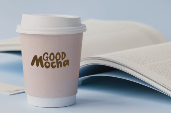 Print on Demand: Go Mocha Display Font By saipulkhurasan - Image 4