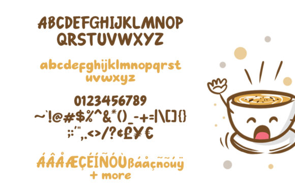 Print on Demand: Go Mocha Display Font By saipulkhurasan - Image 5