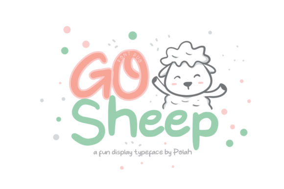 Print on Demand: Go Sheep Display Font By saipulkhurasan
