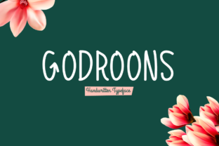 Download Free Godroons Font By Spanking Fonts Creative Fabrica for Cricut Explore, Silhouette and other cutting machines.